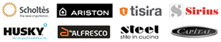 ARISTON                           INDESIT ALFRESCO CAPITAL HUSKY SCHOLTES SIRIUS                           STEEL TISIRA